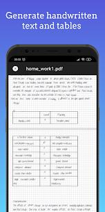 HandWriter Mod Apk- Сonverter to Handwritten Text (Subscription Unlocked) 4