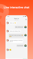 screenshot of Haya - Group Voice Chat App