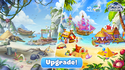 Magic Seasons - build and craft game  screenshots 1