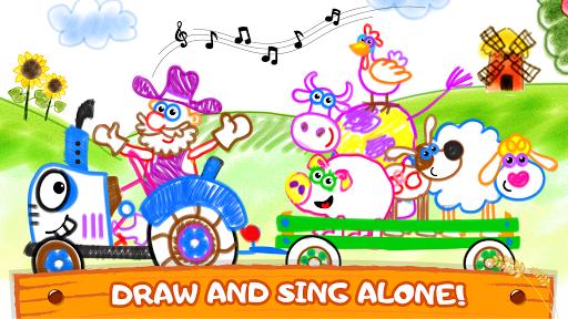 Old Macdonald had a farm ud83dude9c Drawing games for kids  Screenshots 6