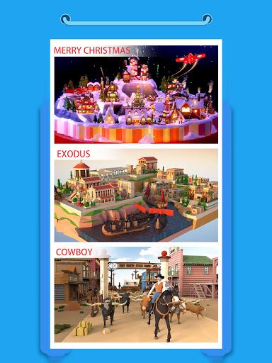 Pocket World 3D - Assemble models unique puzzle 1.8.9 Screenshots 8