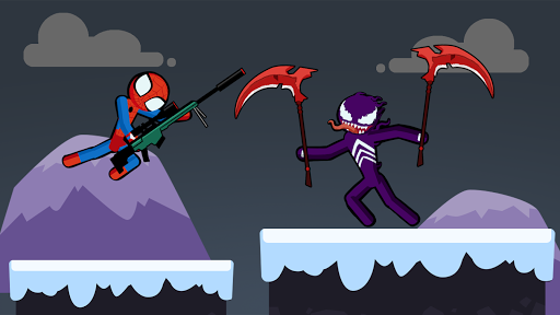 Spider Stickman Fighting 3 - Supreme Duelist Apkfinish screenshots 16