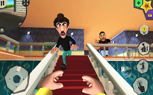 Scary Robber Home Clash Apk Mod + OBB/Data for Android. 6