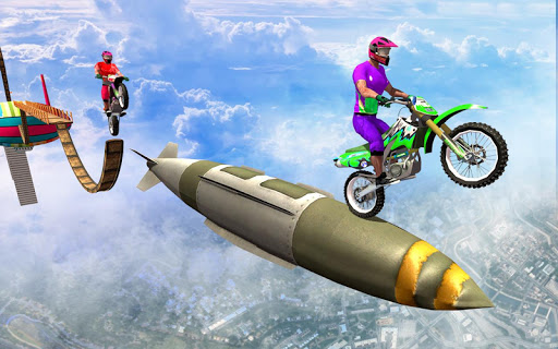 Sky bike stunt 3d   Bike Race u2013 Free Bike Games screenshots 4