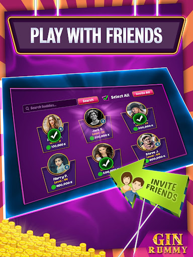 Gin Rummy Online - Multiplayer Card Game 14.1 screenshots 10