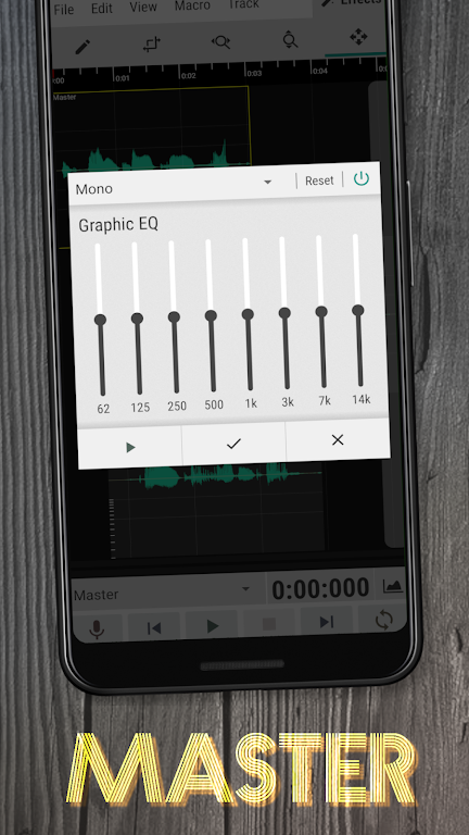 WaveEditor for Android™ Audio Recorder & Editor poster 1