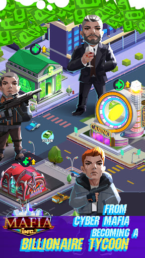 Mafia Inc. - Idle Tycoon Game  screenshots 4