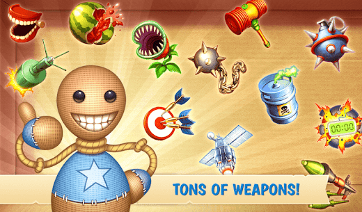 Download Kick The Buddy Apk [MOD, Unlimited Money/Gold/Weapons] 9