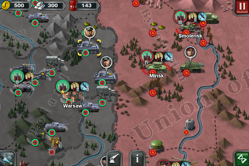 World Conqueror 3  - WW2  Strategy game  screenshots 1