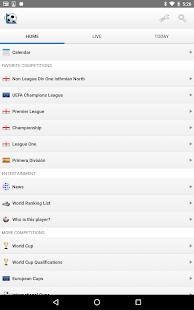 Football Live Scores 1900.0 Screenshots 9