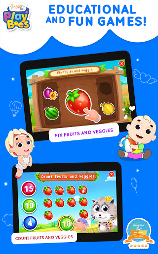 FirstCry PlayBees Play & Learn Kids and Baby Games 2.2 screenshots 11