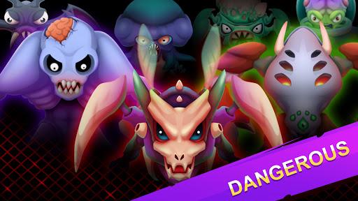Merge Plants: Aliens Defense screenshots 2