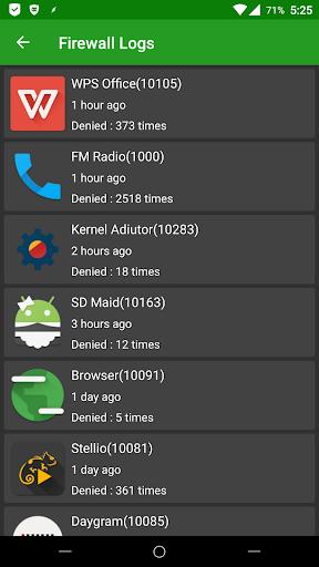 AFWall+ (Android Firewall +) 3.4.0 screenshots 2