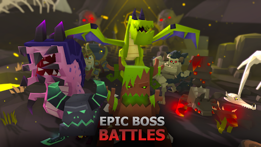 Battle Flare - Fighting RPG  screenshots 2