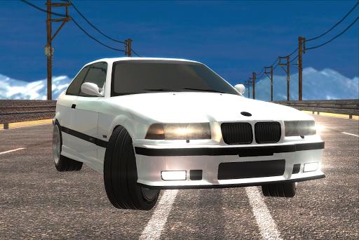 v8 car traffic racer screenshot 1