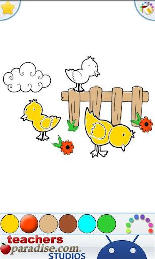 Farm Animals Coloring Book 9 screenshots 4