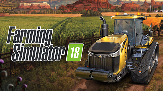 Download Farming Simulator 18 MOD APK [Unlimited Money/OBB/DATA] 1