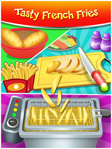Happy Kids Meal Maker - Burger Cooking Game 1.2.9 screenshots 16