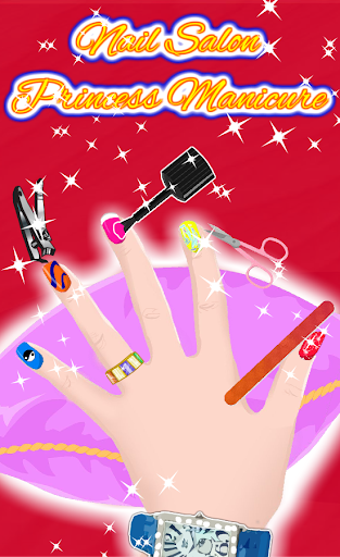 Nail Salon Princess Manicure screenshots 2