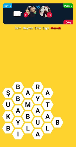 u0130sim u015eehir Hayvan Online - Kelime Oyunu  Screenshots 4