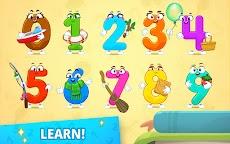 数字を書くことを学ぶ!子供のためのゲームを数えるのおすすめ画像1