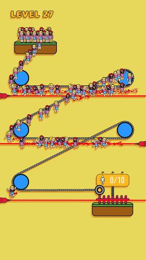 Rope Rescue! - Unique Puzzle android2mod screenshots 2