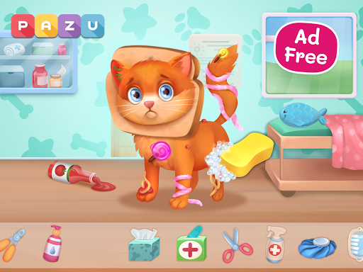 Pet Doctor - Animal care games for kids Apkfinish screenshots 10