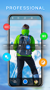HD Camera - Best Filters Cam with Editor & Collage 2.6.4 Screenshots 3