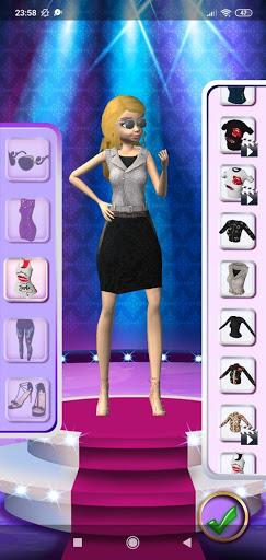 3D Fashion Superstar Dress Up screenshots 18