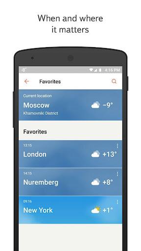 yandex.weather screenshot 2