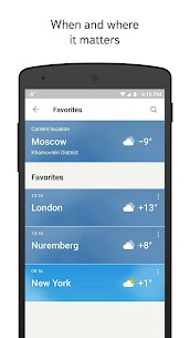 Yandex.Weather  Apps on For Pc (Free Download – Windows 10/8/7 And Mac) 2