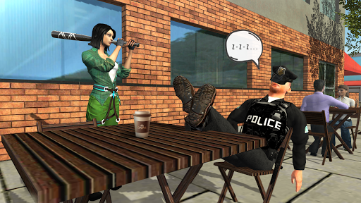 Crime Simulator Real Girl screenshots 13