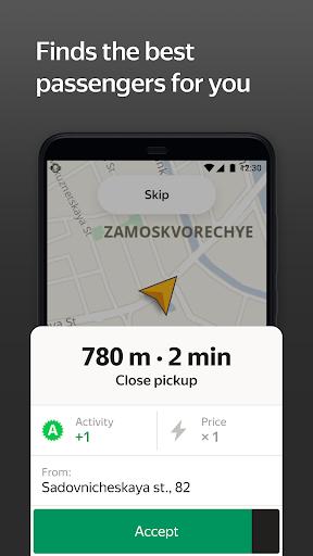 Yandex Pro (Taximeter)u2014Driver job in taxi for ride apktram screenshots 4