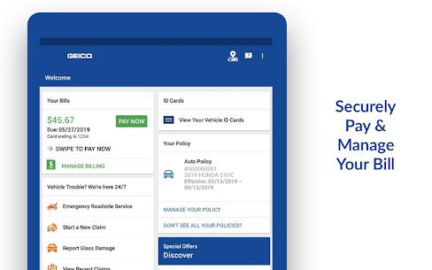 GEICO Mobile – Car Insurance Car Insurance Apk Lastest Version 2021** 12