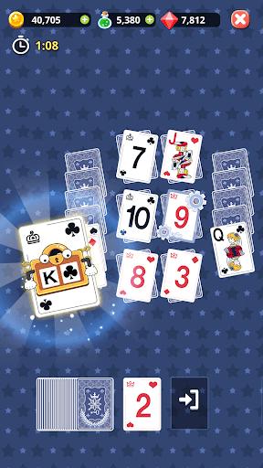 Theme Solitaire Tripeaks Tri Tower: Free card game screenshots 7