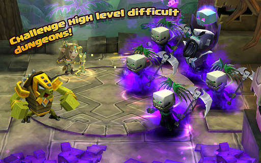 Dungeon Boss Heroes - Fantasy Strategy RPG  screenshots 6