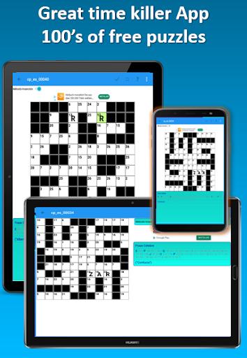 Codeword Puzzles Word games, fun Cipher crosswords 7.5 screenshots 1