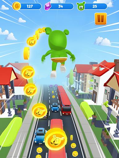 Gummy Bear Run - Endless Running Games 2021  screenshots 8