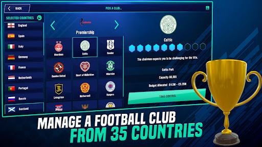 Soccer Manager 2022- FIFPRO Licensed Football Game screenshots 5