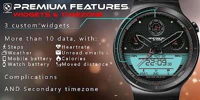 Octane Watch Face & Clock Widget