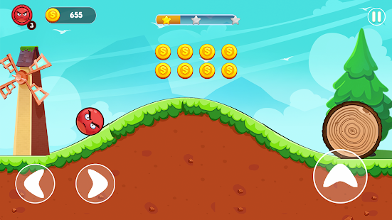 Angry Ball Adventure - Friends Rescue Screenshot