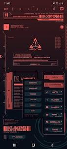 Cyberpunk Theme for KLWP 1