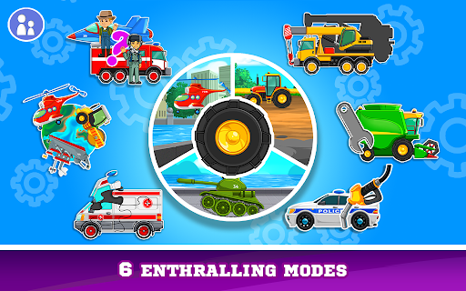 Kids Cars Games! Build a car and truck wash! 1.2.3 screenshots 1