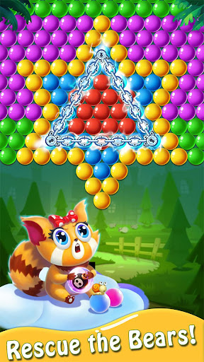 Bubble Shooter : Bear Pop! - Bubble pop games modiapk screenshots 1