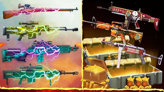 3D Squad Free Fire Battleground Team Shooter 2021 1.8 Screenshots 9