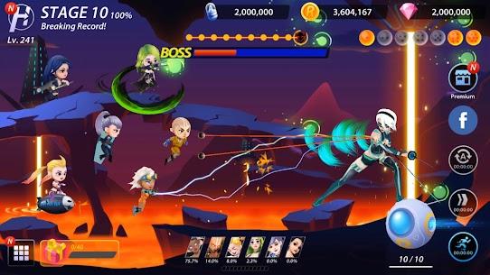 Idle Hero Z Mod Apk- Summon & Merge Cyberpunk (Unlimited Gold) 10