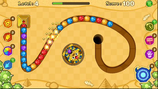 Jungle Marble Blast Screenshot