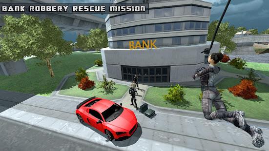 Flying Girl Rope Hero Spider Swing Game 1.3.1 screenshots 4