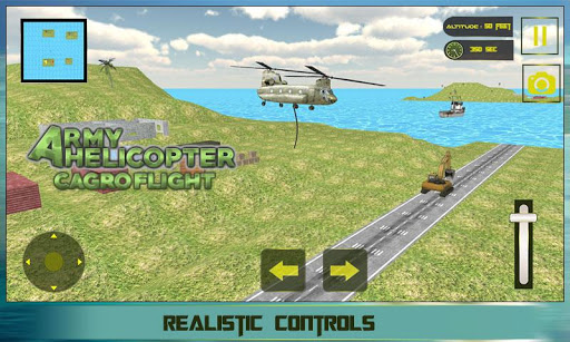 Army Helicopter Cargo Flight For PC Windows (7, 8, 10, 10X) & Mac Computer Image Number- 5