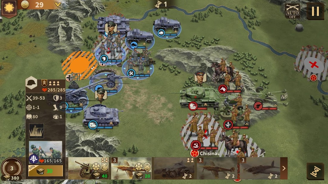 Glory of Generals 3 - WW2 Strategy Game Android App Screenshot